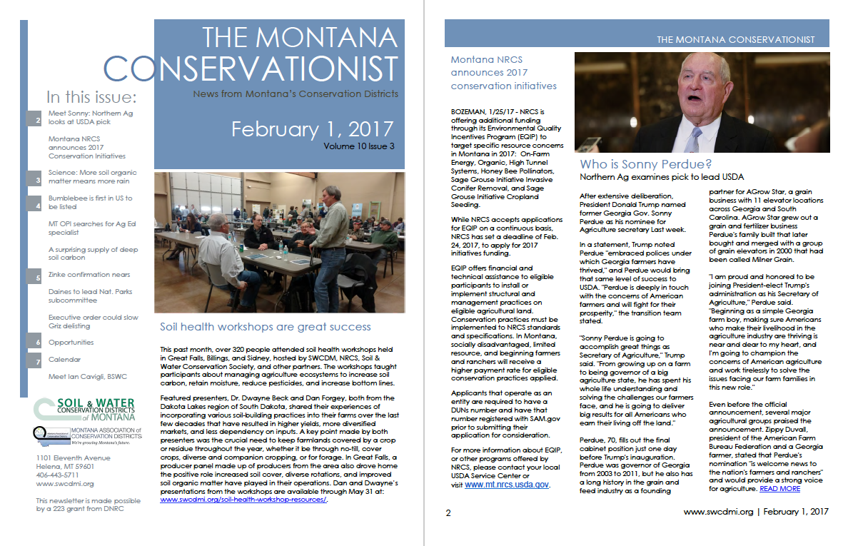 The Montana Conservationist February 1
