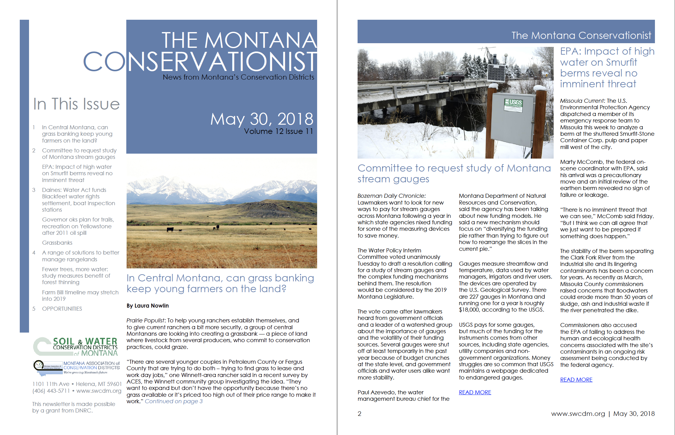 The Montana Conservationist, May 30