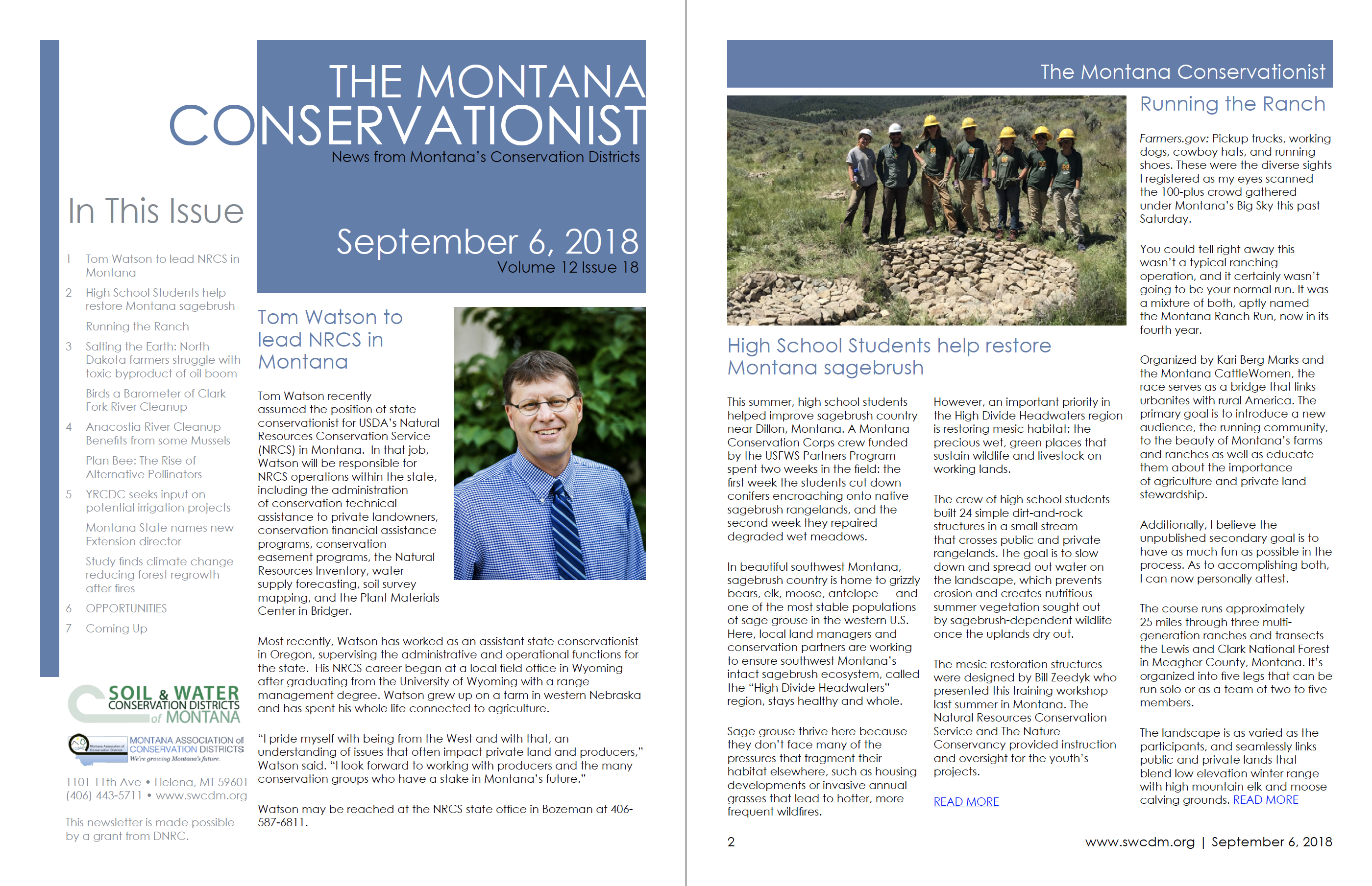 The Montana Conservationist September 6