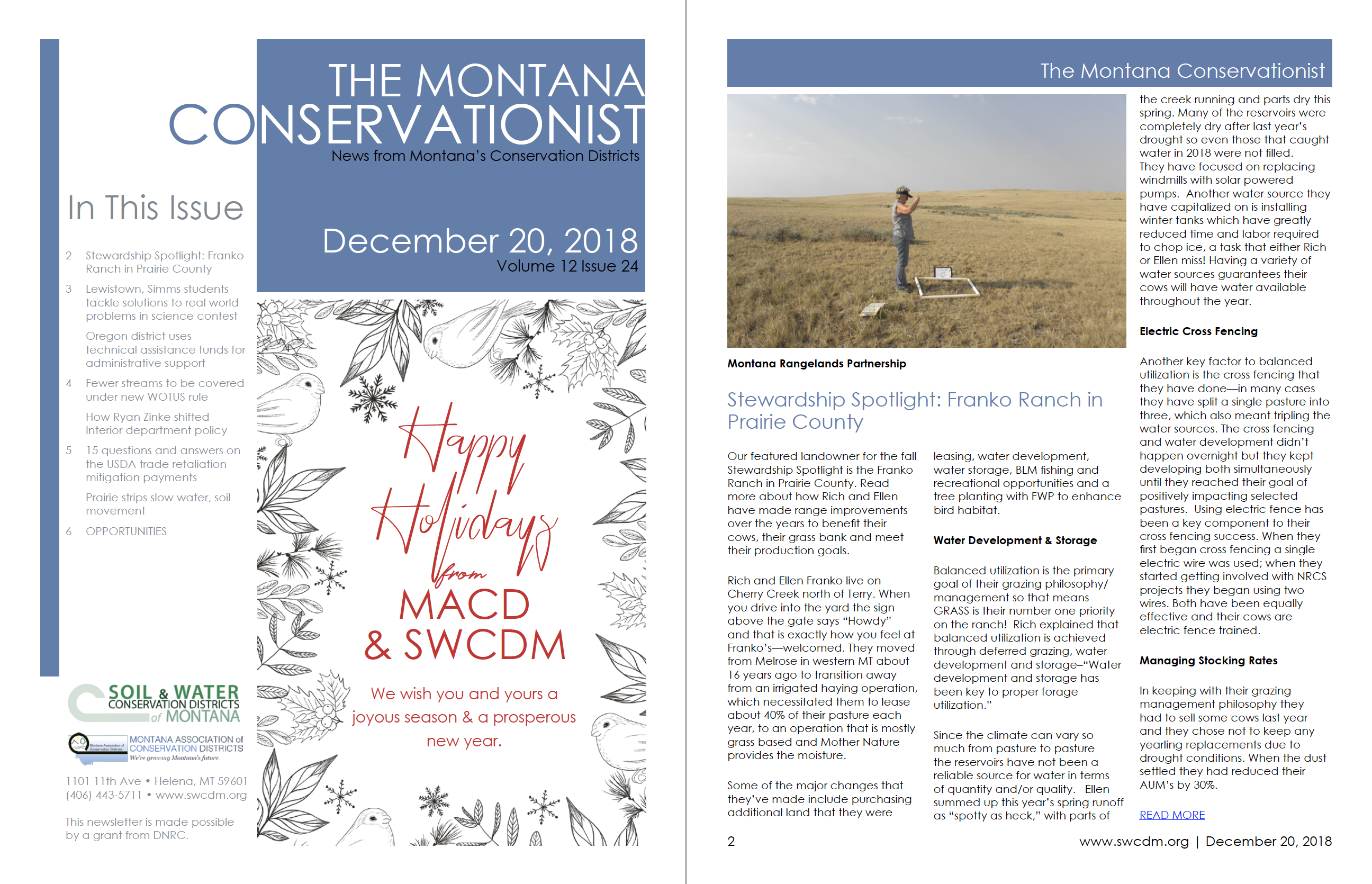The Montana Conservationist December 20